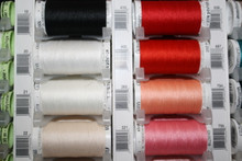 Flame Red #405 Polyester Thread - 250m