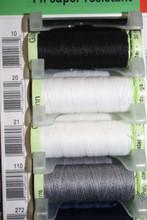 Black #10 Polyester Top Stitching - 30m