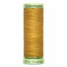 Gold #865 Polyester Top Stitching - 30m