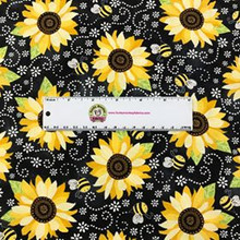 Black Sunflower - You Are My Sunshine - Timeless Treasures Cotton (C5345-BLK)