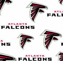 "NFL Atlanta Falcons 60"" Wide Cotton - 1/2 yard (6209-W1)"