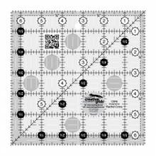 Creative Grids Quilt Ruler 6-1/2in Square ( CGR6)