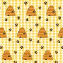 Yellow Beehives - AE Nathan Flannel (N0953AE-44)