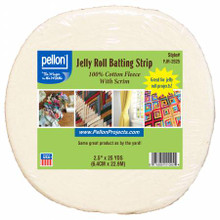 Pellon Cotton Jelly Roll Batting 6.35cm x 22.86m (2.5in x 25yds) (FJR-2525) (view)