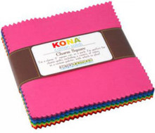 5in Squares Kona Cotton Classic Palette 41pcs