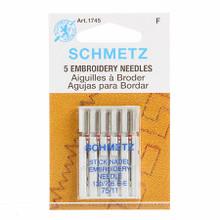 Schmetz Embroidery Machine Needles 11/75 (5 pack)