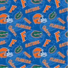 NCAA Florida Tone on Tone - Sykel Cotton - 1/2 yard (FL-1178)