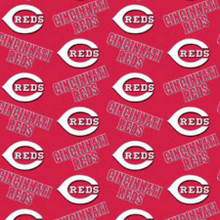 "MLB Cincinnati Reds 60"" Wide Cotton - 1/2 yard (6637-B)"