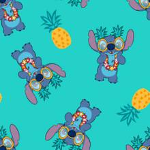 Disney Lilo & Stitch Pineapple - Springs Creative - 1/2 yard (73448A620715)