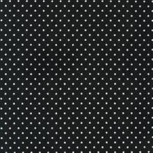 Tiny Dots Black - Robert Kaufman Flannel - 1/2 yard (FIN9255-2)