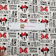 White All About Dots Disney Minnie Mouse - Camelot Fabrics Cotton - 1/2 yard