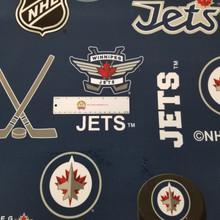 Minky Winnipeg Jets Licensed NHL - Sykel Minky - 1