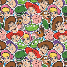 Toy Story Group Collage - Camelot Fabrics Cotton - 1/2 yard (85410311-1)