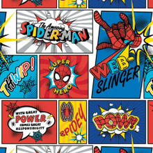 Marvel Kawaii Spider-Man Web Slinger - Camelot Cotton - 1/2 yard (13080032-1)