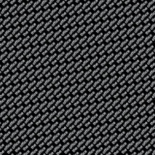 Black The Office Logo - Camelot Cotton - 1/2 yard (96090106-2)