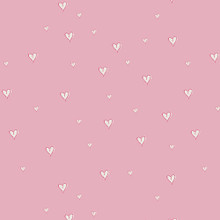 Pink Girl at Heart - Art Gallery Knit - 1/2 yard (K-25441)