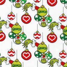 Ornaments Holiday Dr. Seuss - Robert Kaufman Cotton - 1/2 yard (ADE-20279-223)