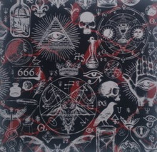 Goth - Quilters Choice Cotton - 1/2 yard (QC509)
