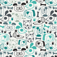Woof That Way - Oh Woof! - Art Gallery Cotton - 1/2 yard
