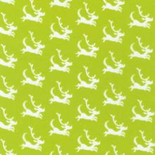 Lime Green Dogs Dr. Seuss - Robert Kaufman Cotton - 1/2 yard (ADE2028150)