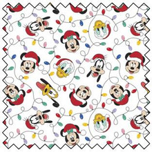 Mickey Mouse Festival Of Lights - Camelot Cotton - 1/2 yard (85271029-1)