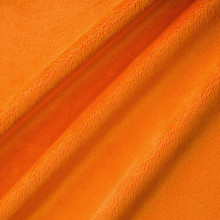 Orange Smooth - Shannon Fabrics Cuddle Minky - 1/2 yard