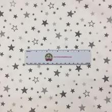 Pepper Stars on White - Robert Kaufman Flannel (SRKF15593188)
