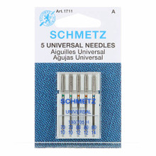 Schmetz Universal Machine Needles Assorted Sizes 70/80/90 (5 pack)