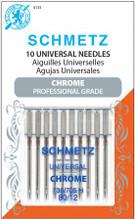 Chrome Universal Schmetz Needles Size 80/12 (10 pack)