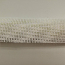 White Vinyl Bag Mesh Roll