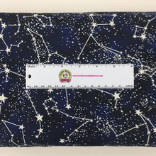 Glow In The Dark Constellations - Timeless Treasures Cotton (CG2750)