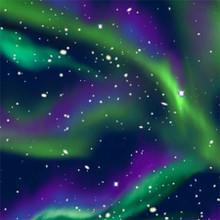 Northern Lights - Baum Anti-Pill Fleece (WFP46416-1)