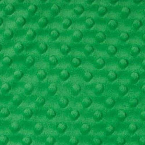 Kelly Green Dimple - Shannon Fabrics Cuddle Minky