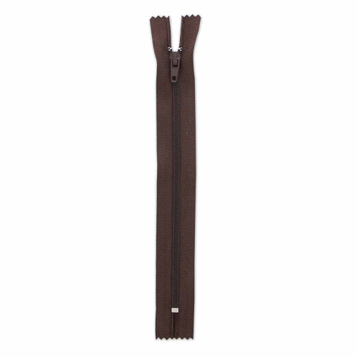 "7"" Zipper - Brown"