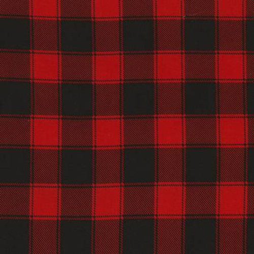 Red/Black Plaid - Timeless Treasures Cotton (C5784-RED)