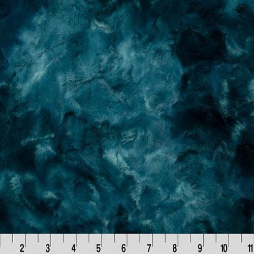 Mallard Galaxy - Shannon Fabrics Cuddle Minky (lcgalaxymallard)