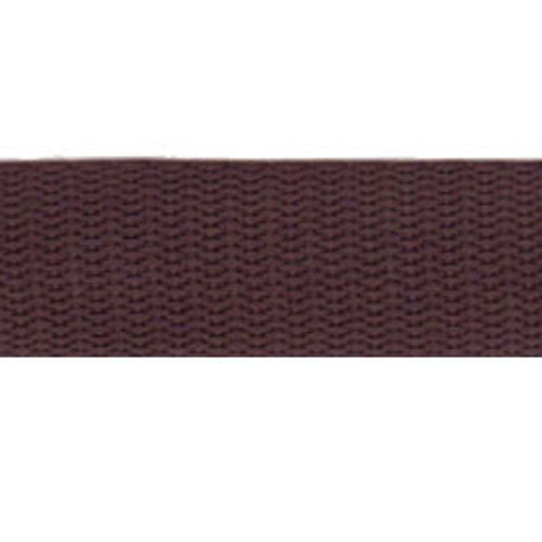 """1"""" Webbing by the Yard - Brown"""