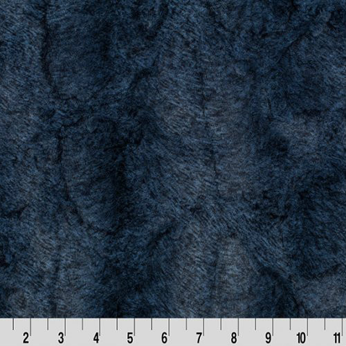 Chambray Heather Luxe Minky - 1/2 yard