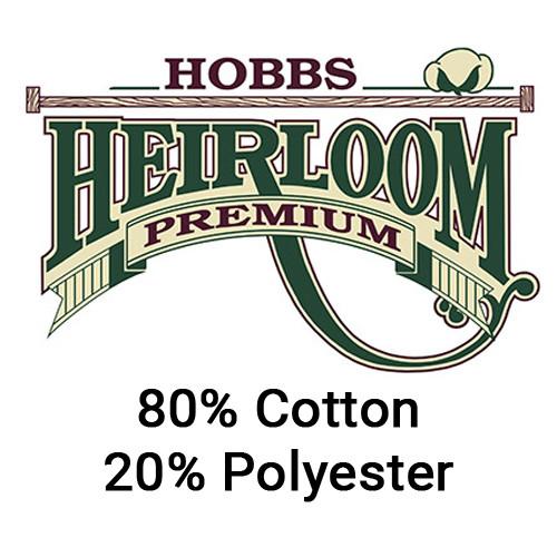 "Hobbs Heirloom 80/20 Batting 96"" Width - 1/2 yard"