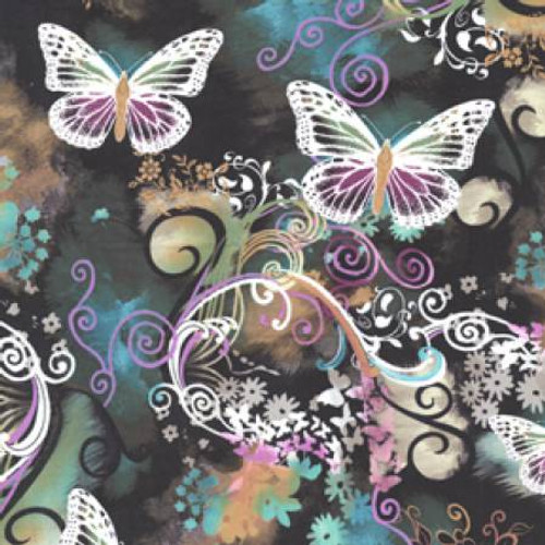 Filigree Flutter - Michael Miller Cotton