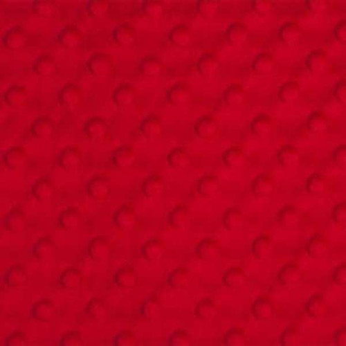 Red Dimple Minky - Shannon Fabrics