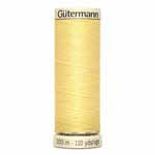 Cream #805 Polyester Thread - 100m