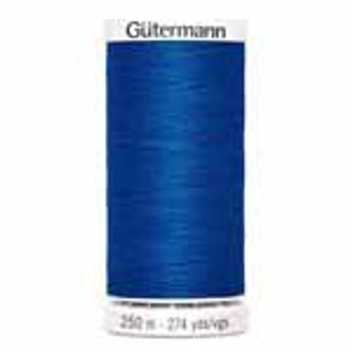 Electric Blue #248 Polyester Thread - 250m