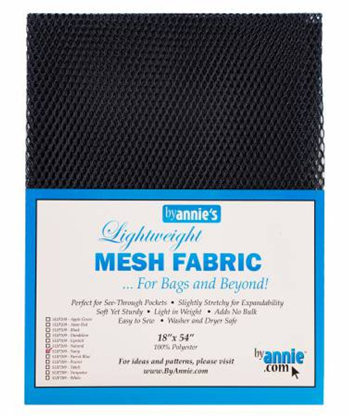 "Mesh Lite Weight Navy - 18x54"" package"