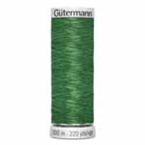 Green #235 Metallic Thread - 200m