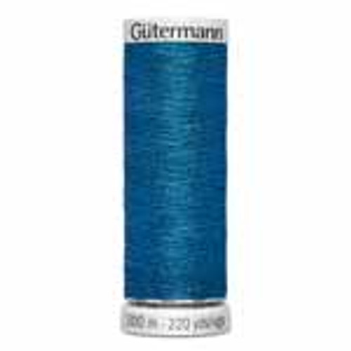 Bright Blue #483 Metallic Thread - 200m