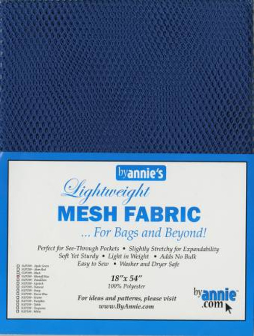 "Mesh Lite Weight Blastoff Blue - 18x54"" package"