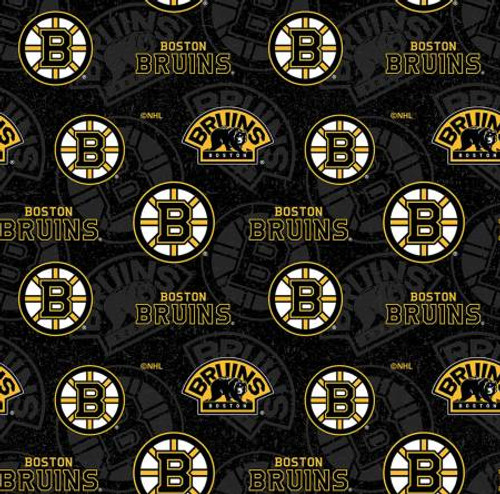 NHL Boston Bruins Tone on Tone Cotton - Sykel Enterprises (1199BRU)
