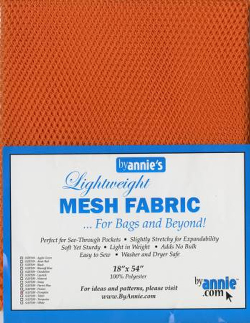 "Mesh Lite Weight Pumpkin - 18x54"" package"