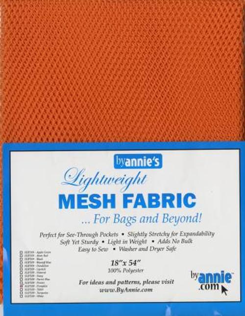 """Mesh Lite Weight Pumpkin - 18x54"""" package"""